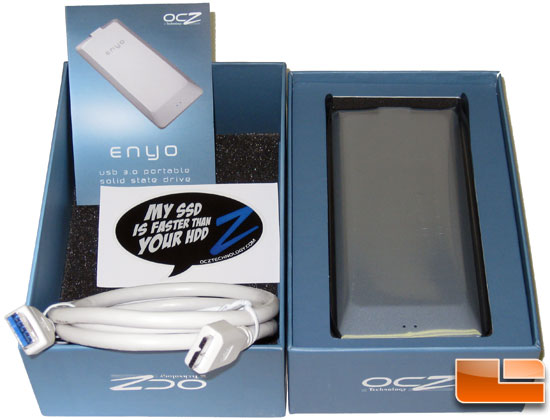 OCZ Enyo USB 3.0 Portable SSD Retail Bundle