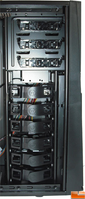 Thermaltake Armor A60 Mid Tower Case drive Bays