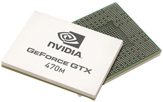 NVIDIA GeForce GTX 470m