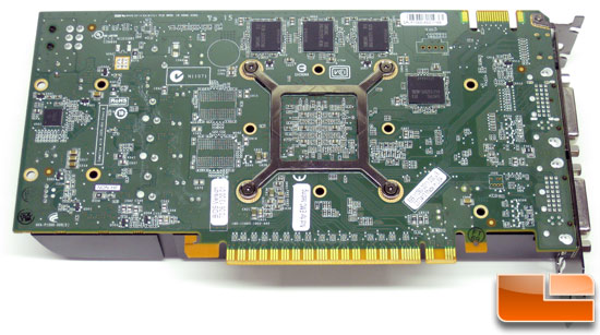 NVIDIA GeForce GTS 450 1GB Video Card Back