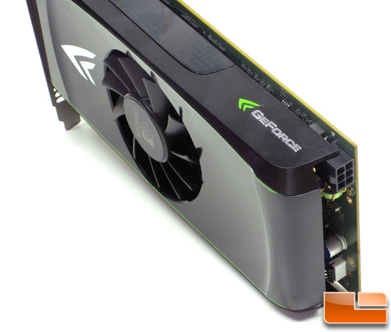 NVIDIA GeForce GTS 450 1GB Video Card PCIe Power Header