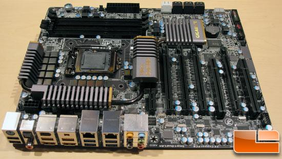 Gigabyte GA-P67A-UD7 Intel Motherboard. Gigabyte's current generation of