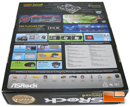 ASRock 890FX Deluxe4 Retail Box and Bundle