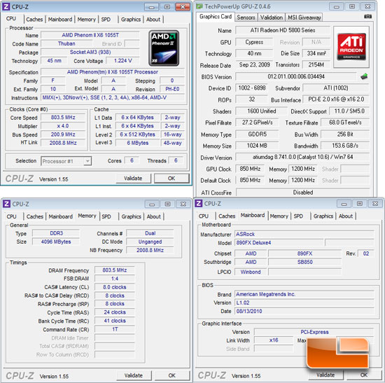 ASRock 890FX Deluxe4 System Settings