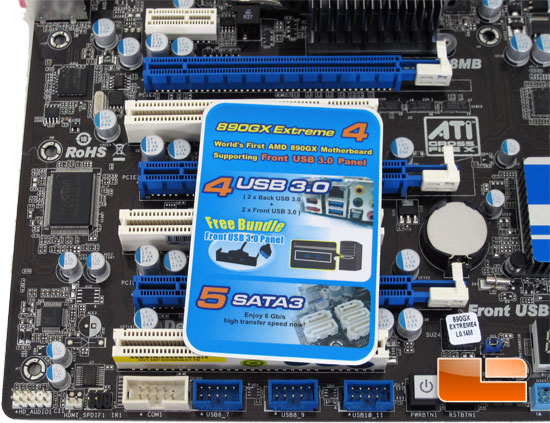 ASRock 890GX Extreme4 Board Images