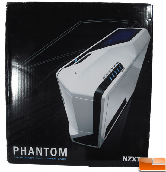 NZXT Phantom Full Tower Case Box Front