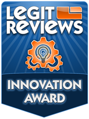 The Legit Reviews Innovation Award