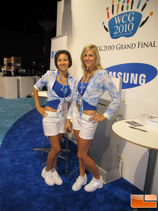 WCG 2010 Booth Babes!!
