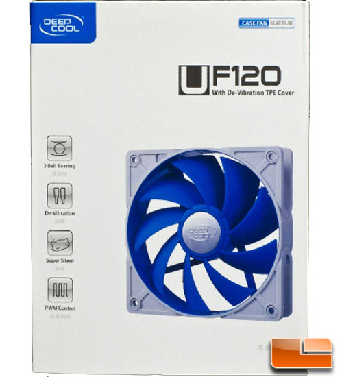 DeepCool UF120 120mm Case Fan Review