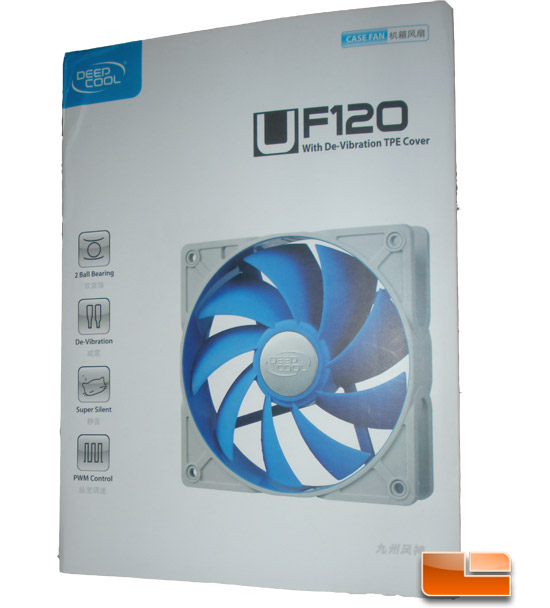 Deep Cool UF120 120mm Case Fan Retail Box