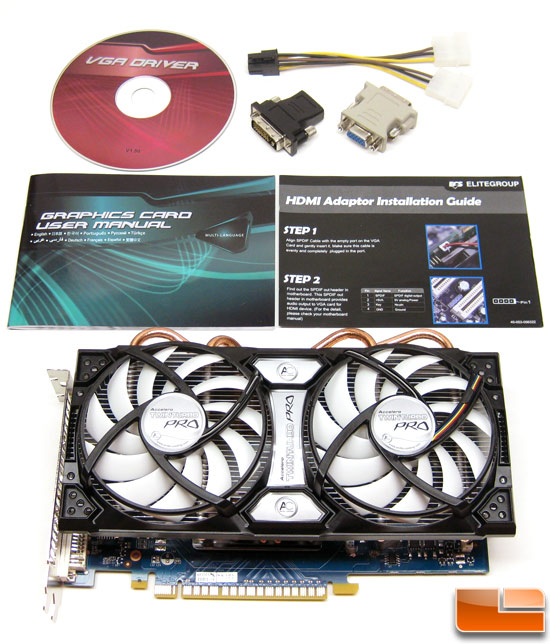 ECS GeForce GTS 450 Black Video Card Retail Bundle