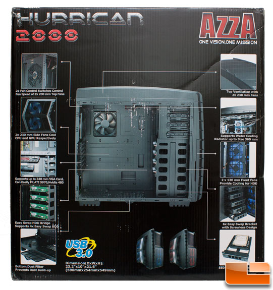 Azza Hurrican 2000 Retail Box