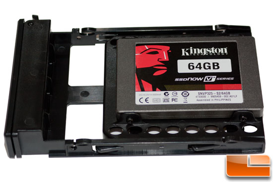 SSD Installed in the Azza Hurrican 2000