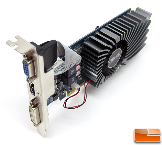 NVIDIA GeForce GT 430 1GB Video Card Angle