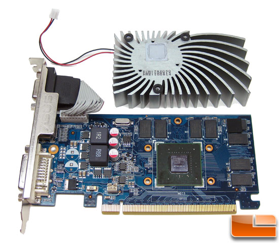 NVIDIA GeForce GT 430 1GB Video Card Front