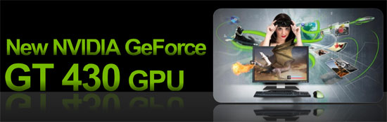 NVIDIA GeForce GT 430 1GB Video Card
