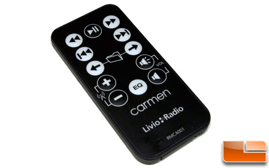 Carmen Internet Radio Remote