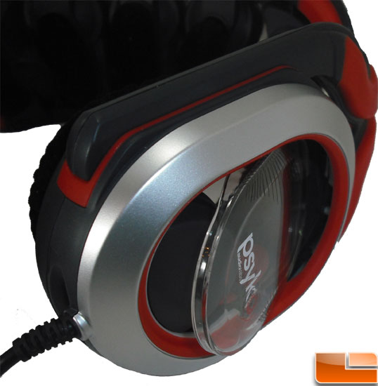 Psyko 5.1 Gaming Headset Open ear-cup