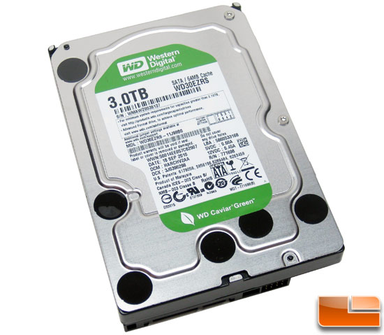 Western Digital Green Power 3TB Hard Drive