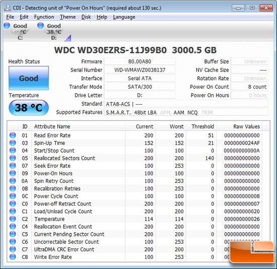 WD 3TB Info