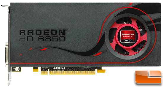 AMD Radeon HD 6850 Video Card