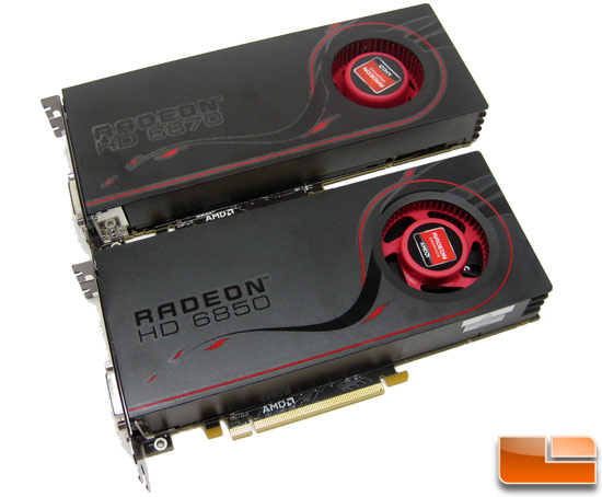 AMD Radeon HD 6850 and Radeon HD 6870 Video Cards