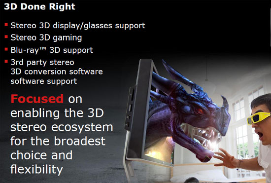 AMD Radeon HD 6800 3D Gaming