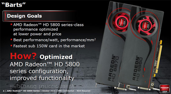 AMD Radeon HD 6800 Design Goals