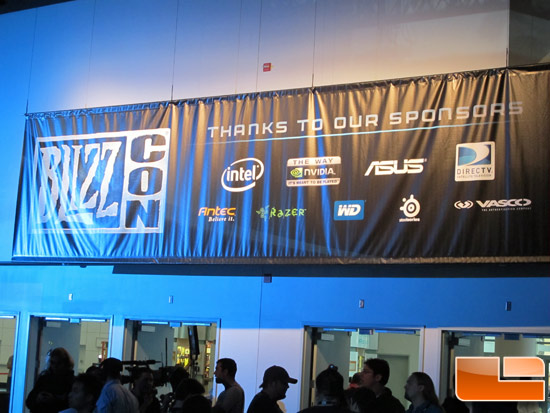 BlizzCon 2010 Hardware Vendors