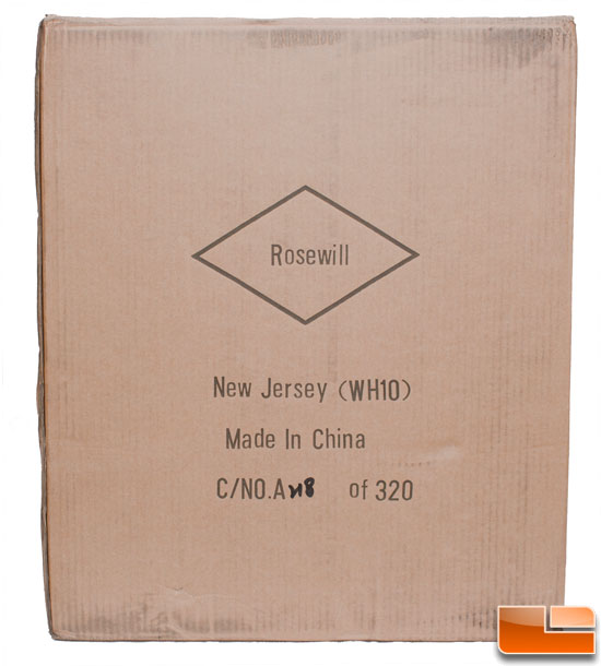 Rosewill Armor Retail Packaging