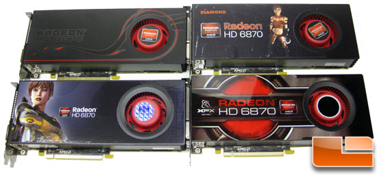 AMD Radeon HD 6870 Video Cards