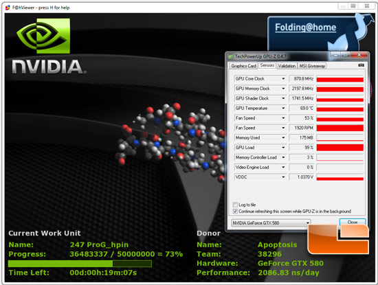 NVIDIA GeForce GTX 450 Video Card Overclocking