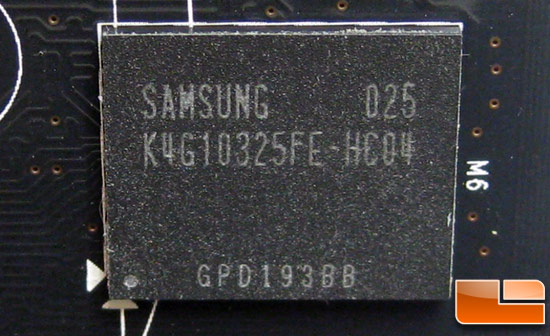 NVIDIA GeForce GTX 580 Video Card Samsung GDDR5 ICs