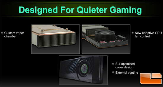 NVIDIA GeForce GTX 580 Video Card Cooling Solution