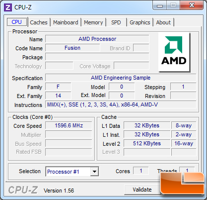 Does AMD E-350 support virtualization? | AnandTech Forums