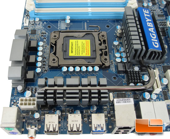 GIGABYTE GA-X58-USB3 Motherboard Review