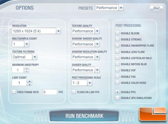 3DMark Vantage 1.1.0 -  Ekran Kartı Test Etme Programı