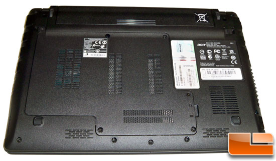 Acer Aspire 1551-5448 Bottom