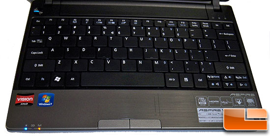 Acer Aspire 1551-5448 Keyboard