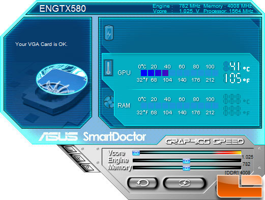 ASUS ENGTX580 Smart Doctor Utility