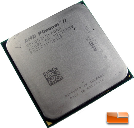 AMD Phenom II X6 1100T Black Edition Processor Review