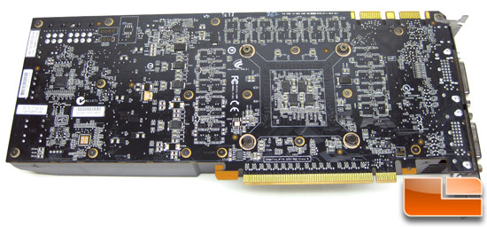 NVIDIA GeForce GTX 570 Video Card Back