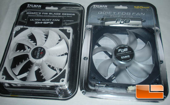 Zalman ZM-F3-FDB & ZM-SF3 120mm Cooling Fan Review