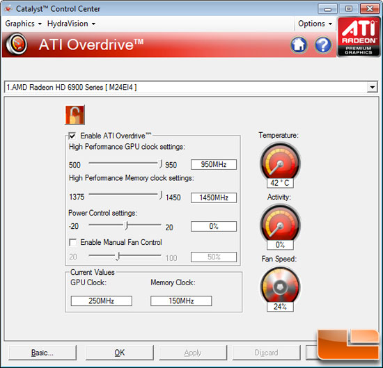 AMD Radeon HD 6970 Video Card Overclocking