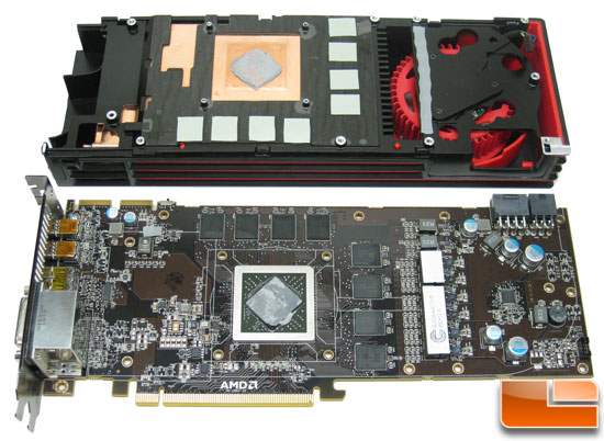 AMD Radeon HD 6970 Video Card Back