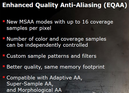 Enhanced Quality Anti-Aliasing