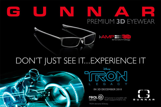 Gunnar Optiks & Disney Tron