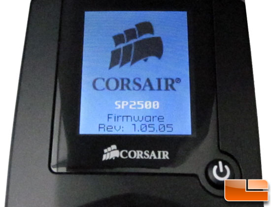 Corsair SP2500 Color TFT Controller