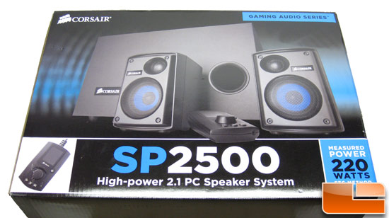 Corsair SP2500 2.1 PC Speaker System