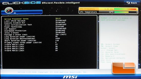 MSI P67A-GD65 Motherboard UEFI BIOS